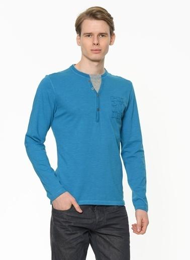 Excess Bluz Mavi